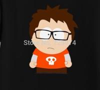 South Park TV cartton funny guy black t shirt