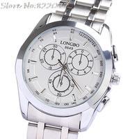 Wholesale watch waterproof men luxury Japan movement stainless steel watch halloween birthday gifts