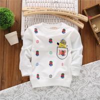 unisex girls cartoon hoody fashion baby boys children cotton spring autumn sweatshirts hoodies drop shippig KT254R