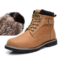 New 2014 Winter fashion casual mens motorcycle boots fashion casual leather men shoes winter fur warm waterproof boots shoes