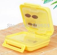 Free shipping portable travel pill box case/Drug holder,pill case Organizer Container 6 lattice,2pcs/lot,CY-PCS15