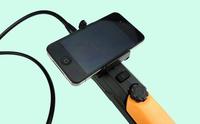 Wireless Hd 2 million pixels photos video industrial endoscope  WIFI endoscope pipe mechanics speculum