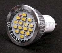 Promotion led lamp Spotlight High Efficiency Bulb Light SMD 5630 GU10 6W White 220V led bulb Free shipping