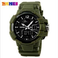 Fashion Outdoor Men Sports Watches SKMEI LED Digital Quartz Waterproof Multifunction Military Watch Casual Dress Wristwatches