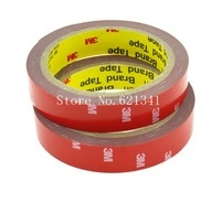 Wdith:20mm 3M 4229 Automotive For Auto Truck Car Acrylic Foam Double Side Double-Sided Adhesive Tape 10Pcs/lot  422920