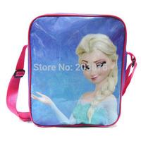 Frozen Messenger Bag Cartoon Frozen Princess Girls Shoulder Cross Body Elsa & Anna 24CM