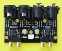 Balanced Unbalanced (RCA) to unbalanced (RCA) balanced stereo preamplifier board
