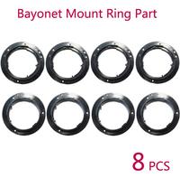 8PCS Bayonet Mount Ring Part for NIKON 18-55 18-105 18-135 55-200 mm LENS Replacement