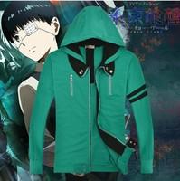 New Tokyo ghouls Ken Kaneki  casual wear Cosplay Hoodie & Jacket Costumes & Accessories Free Shipping