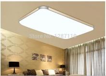 108w high power modern led ceiling light Golden color 93cmx65cm ultra-thin modern led ceiling light for bedroom free ship(China (Mainland))