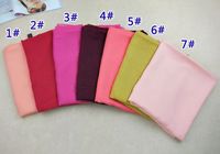 women's cotton printe solid color high quality chiffon silk scarf head hijab long muslim winter/spring scarf/scarves 10pcs/lot.