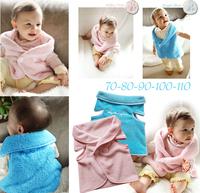spring autumn winter kids' boy girl children outwear waistcoat kids fur vest baby clothing