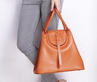 2014 Women's handbags European and American fashion new winter Napa leather big capacity handbag Messenger bags