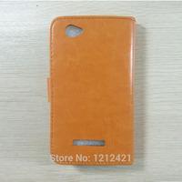 Fly IQ458 Evo Tech 2 leather case,Luxury flip Leather case cover for Fly IQ458 Evo Tech 2 stand cover good quality six colors.
