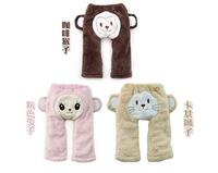 2014 new boys girls cartoon thick fleece pp pants baby wear Mickey Minnie legging children's clothing