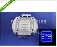 free shipping 5pcs 50W High Power Epistar LED Lamp Light Baolan Blue Color 455-465NM