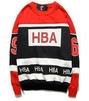 2014 men`s cotton good quality sweatshirt unisex rocky Streetwear HBA By Air o-neck long-sleeve outerwear large size M-XL
