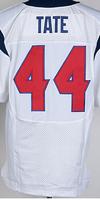 Cheap Free Shipping American Houston Football #44 Ben Tate Jersey White, Blue, Red Stitched Logo Elite