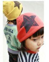 Fashion Star Design photography props skull beanie Cap hat for kids children baby boy girls gift Autumn&Winter  17 colors