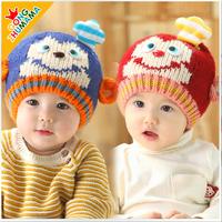 Hot saleNew mult-color Cartoon Baby Toddlers Cotton comfort Sleep Cap Headwear Cute Hat free shipping