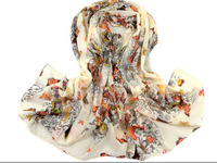 Free Shipping!2014 New 10pcs/lot Fashion Women Scarves Butterfly Print Long Scarf Wrap Shawl Stole Pashmina/Womens Hijab Scarfs