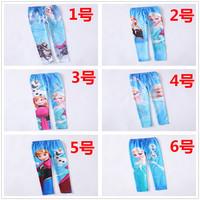 Free Shipping New 2014  Baby Girls  Leggings Kids  Pants 3-10 Year Girl  Leggings One Piece Retail