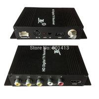 DVB-T HD/SD Receiver Box for Car one TUNER ,USB FOR MP3/MP4  FREE Gift 1 pcs HIGH GAIN Antenna