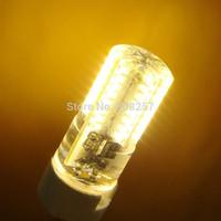 FREE SHIPPING 10x G4 3W 64 3014 SMD LED light lamp bulb 220V Warm WhiteSilicone Crystal