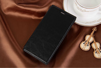1pc 100% Brand Luxury New Crazy Horse Pattern High Quality Fashion PU Flip Leather Case Stand with Card Holder for Xiaomi M3 Mi3