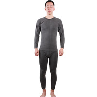 Santo Man's Fever Fibers Underwear Sport Thermal Underwear Camping Inner Clothes Winter Clothes