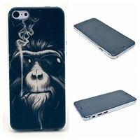Smoking Monkey Pattern Hard Cover for iPhone 6 Case 4.7 inch Phone Cases