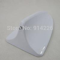 Free Shipping Shark Fin Style Car Adornment Antenna White