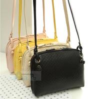 6pcs/lot 2014hot selling Fashion PU Women Messenger Bags women Leather Handbags women's hand bag Shoulder bag