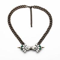 fashion women jewelry metal alloy statement necklace
