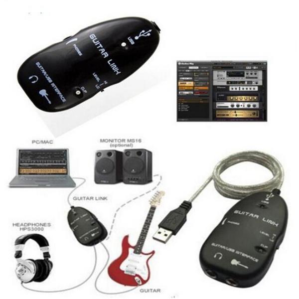 Аксессуары для гитары USB PC USB аксессуары для гитары oo