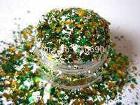 Nail Art Acrylic Gel Glitter mix glitter christmas mixes