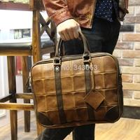 Original brand Crazy Horse leather men messenger bags desigual travel bag body bags impresso Vintage Bag bolsos handbag 037