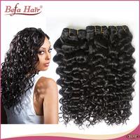 New arrival 3pcs lot  Malaysian Italian curly 6A befa hair product malaysian virgin hair free shipping human hair extension