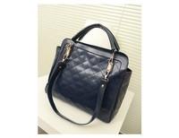 PROMOTION ! Free Shipping Leisure bag Women's handbag Quilted bags, motorcycle chain handbag lady Plaid handbag Hot Sale  HB030