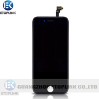 2014 New Arrival lcd screen for iPhone 6 LCD with Touch Screen Digitizer with Frame Replacement Parts free shipping