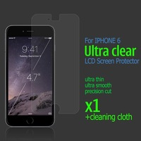 Ultra Clear Screen Protector For Iphone 6 4.7 Transparent LCD Protective Guard Film NO Retail Package Free Ship 2014 New