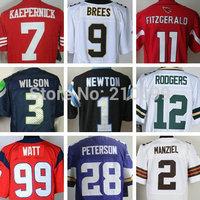 american football jerseys,cheap elite Jersey,j.j. watt,Colin Kaepernick,Johnny Manziel,Drew Brees,Cam Newton,men t-shirt