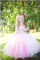 6 Color Princess Beautiful Flower Girl Dress Elegant Girl tutu Dress For Party Photo Festival Birthday Grown Size 2T-10Y