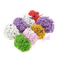 Hot Sale Foam Leek FlowerS With Wire Wtem/Decoration Handmade Flower 144pcs Free Shipping FE-39