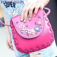 Flying birds! new Weave shell package women mini handbag shoulder mobile bag women messenger bags handbags sale LS3787c