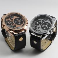 2014 DZ Relogio Hotel leather strap watch men's top brand men's watches stainless steel quartz watch sport watch DZ