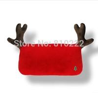 Car Pillow Deer Style Car Headrest Neck Pillow Car Cushion Car Accessories Neck Pillow  for Car Pillow for Christmas Red/Green