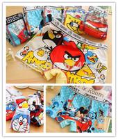 free shipping 6pcs/lot the cartoon cool children cotton boxer underwear boy cotton pants for children  kids pants mix style