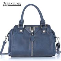 Famous Brand 2014 New Vintage Leather Fashion Unique Design Women Handbags Messenger Bag Bolsas De Marca Ladies Casual Clutch