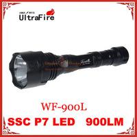10pcs UltraFire WF-900L SSC P7 LED 3 Mode 900LM LED Tactical Flashlight